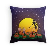 The Great Pumpkin King Throw Pillow