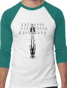 stranger things - eleven and monster Men's Baseball ¾ T-Shirt