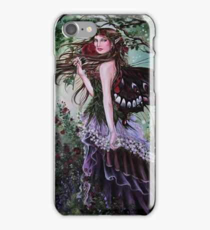 Forest/ garden fairy tote bag iPhone Case/Skin