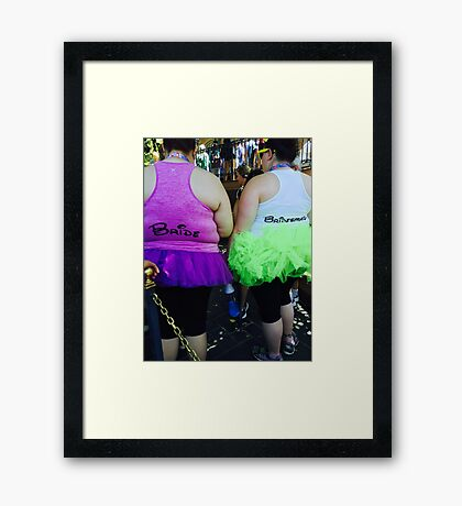 Disney Wedding Framed Print