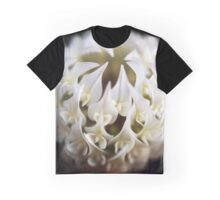 Macro Clover Flower Graphic T-Shirt