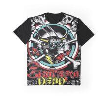 Grateful Dead - Vintage Shrine Blue Cheer Gig Poster  Graphic T-Shirt