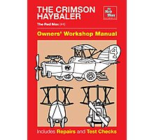 Owners' Manual - Crimson Haybaler - Poster & stickers Photographic Print