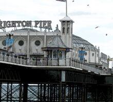 Brighton Pier Seaside entertainment Sticker