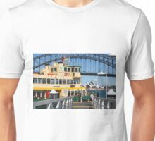 Sydney ferry,harbour bridge and Opera House Australia  Unisex T-Shirt