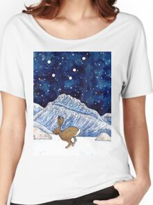Hare under the stars Women's Relaxed Fit T-Shirt