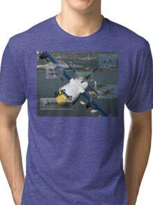 Blue Angels Montage #3 Tri-blend T-Shirt