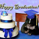 Graduation Skunk by jkartlife