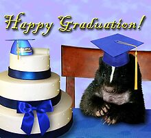 Graduation Skunk by jkartlife