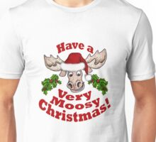 Moosy Christmas Unisex T-Shirt