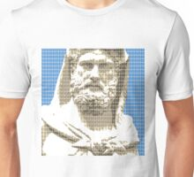 Greek Statue #3 - Blue Unisex T-Shirt
