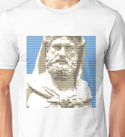 Greek Statue #3 - Blue Unisex T-Shirt
