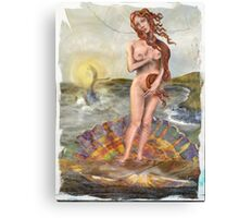 Venus and Moby Dick: Clash of the Classics Canvas Print