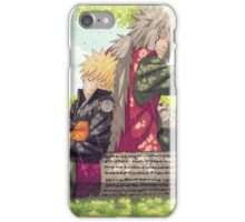 Sensei and Student iPhone Case/Skin