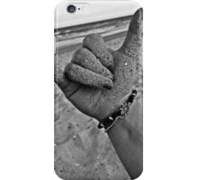 Hang Loose on the Shore iPhone Case/Skin