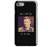 Coldplay-Fix You Lyrics iPhone Case/Skin