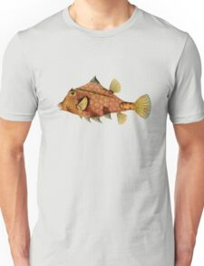 Plants and Animals, ocean, sea creature, fish, Ostraciontes, marine, psychedelic, art, illustration, haeckel,  Unisex T-Shirt