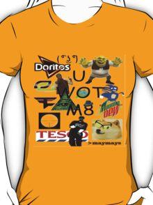 U WOT M8 Montage Parody (Dress Code Safe) T-Shirt