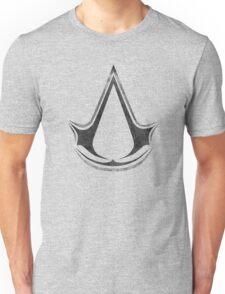 °GEEK° Assassin's Creed B&W Logo Unisex T-Shirt