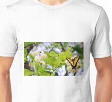Butterfly On Buttonbush Unisex T-Shirt