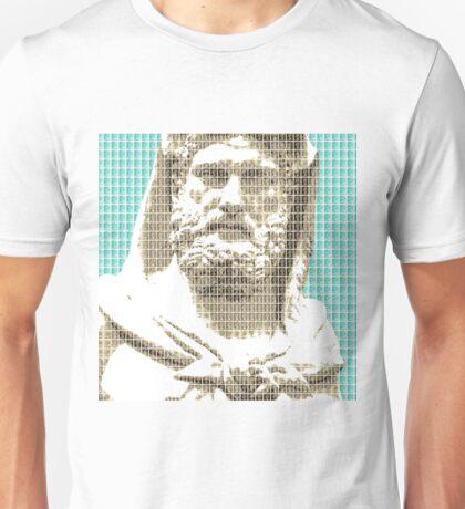 Greek Statue #3 - Light Blue Unisex T-Shirt