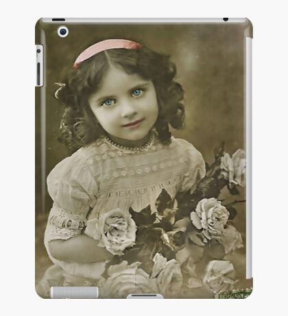 The Flower Girl iPad Case/Skin