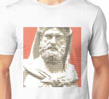 Greek Statue #3 - Orange Unisex T-Shirt