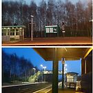 Whitchurch train station by H J Field