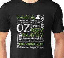 Wicked Musical Quotes Unisex T-Shirt