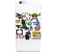 U WOT M8 Montage Parody (Dress Code Safe) iPhone Case/Skin