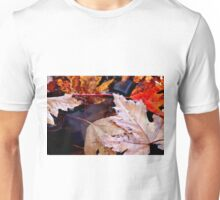 Leaf Litter on the Water Unisex T-Shirt