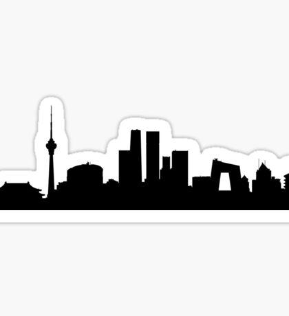 Beijing skyline Sticker