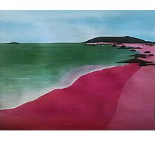 Pink Sands Photographic Print