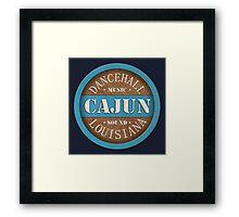 Dancehall Cajun Louisiana Framed Print