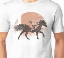 Bicycle Horse Unisex T-Shirt