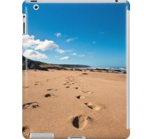 Leave Only Footprints Take Only Memories iPad Case/Skin