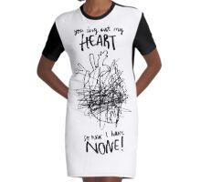 Heartless Graphic T-Shirt Dress