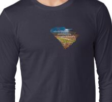 Where the Blue Ridge Yawns its Greatness Long Sleeve T-Shirt