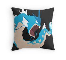 Gyarados Throw Pillow