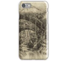 Roman Bridge Penmachno  iPhone Case/Skin