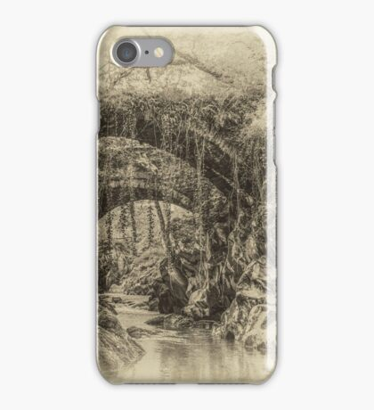 Roman Bridge Penmachno  iPhone Case/Skin