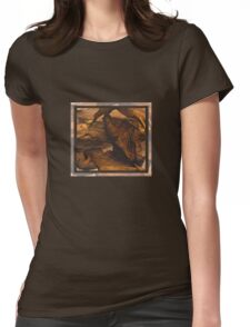 Leaving now Womens Fitted T-Shirt
