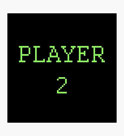 Player 2 Photographic Print