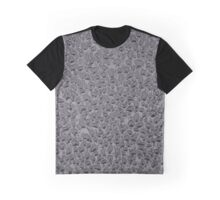 black gloss water bubble black texture pattern Graphic T-Shirt
