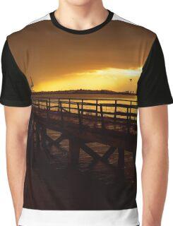 Evening Glow Graphic T-Shirt