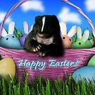 Easter Skunk by jkartlife