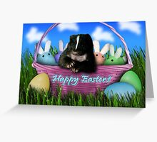 Easter Skunk Greeting Card