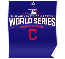 CLEVELAND INDIANS WORLD SERIES 2016 Poster