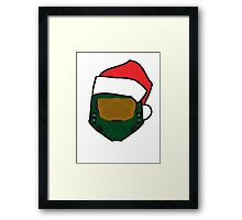 Christmas Master Chief Framed Print