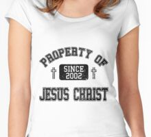 Property of Jesus Christ Women's Fitted Scoop T-Shirt